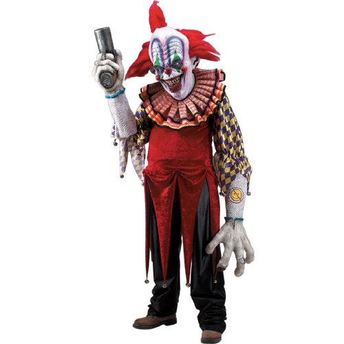 Rubie's Co Creature Reaches Giggles The Clown Costume, Red, Standard