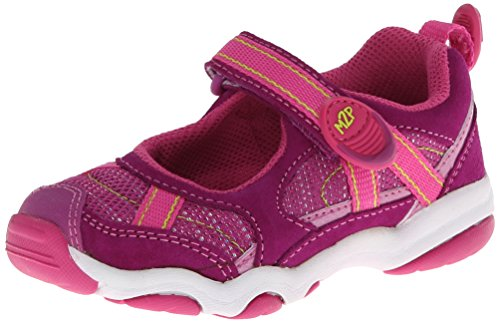 Stride Rite M2P Robin Cg Mary Jane (Toddler/Little Kid),Purple/Lime,11 M Us Little Kid front-751584