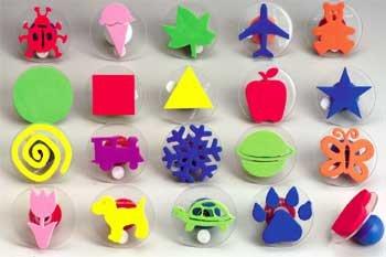 Knobbed Design Stampers
