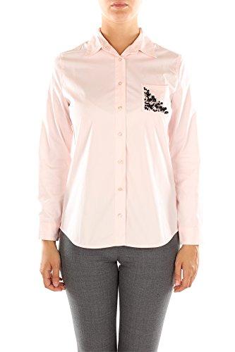 Camicie Pinko Donna Cotone Rosa e Nero 1W10LY5799N06 Rosa 40