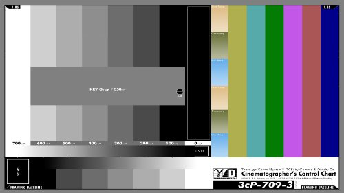 3cP-709-4 Color Correction Chart (DIGITAL) (Film Color Chart compare prices)