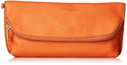 Fossil Preston Foldover Pouch Clutch, Monarch, One Size