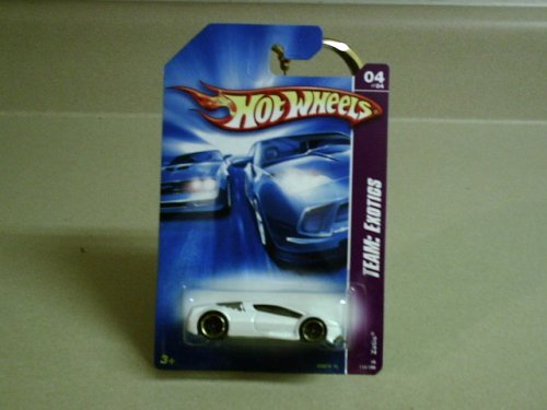2008 Hot Wheels Team: Exotics White Zotic #116 (4 of 4) - 1