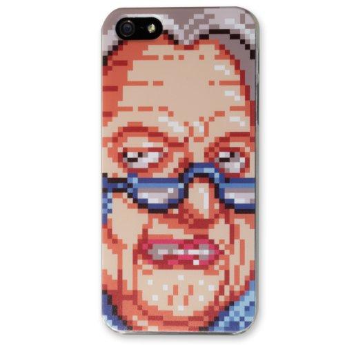 【 iPhone 5 / 5s 】アイフォン オリジナル ケース クッキークリッカー ババァ アップ