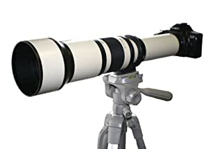 Rokinon 650Z 650-1300mm Super Telephoto Zoom Lens (White )