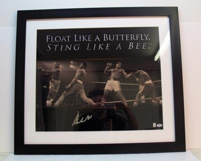 Muhammad Ali Autographed Photograph - with