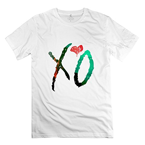 Men's Summer Tshirt - The Weeknd X'O White Size L
