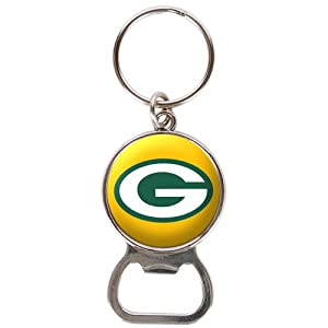 Green Bay Packers - NFL Bottle Opener Keychain from Great American Products