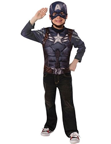 Boy's Captain America Costume Kit