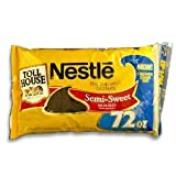 Nestle Chocolate Morsels - 72 oz. bag