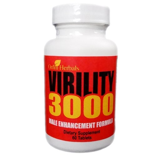 Virility 3000 - Male Enhancement Virility Pill For Men - All-Natural