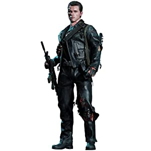 "[Movie Masterpiece DX] ""Terminator 2"" 1/6 scale figure T-800 (Battle Damage version) (second shipment) (japan import)"