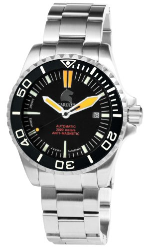 Carucci Watches Watches CA4401GR - Reloj para hombres, correa de acero inoxidable color plateado