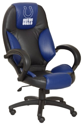 Indianapolis Colts Leather Office Chair