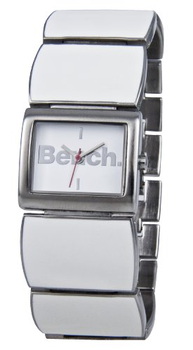 Bench White Enamel Ladies Bracelet Watch - BC0273WHSL