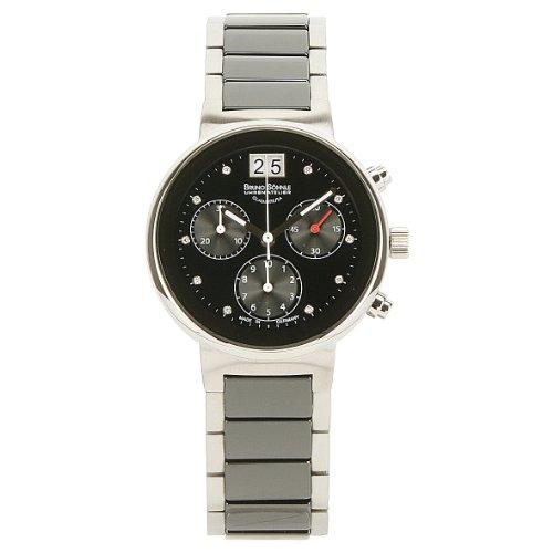 Bruno Söhnle Women's Quartz Watch with Silver Algebra Ceramic 4Analogue Quartz 1773134Satellite