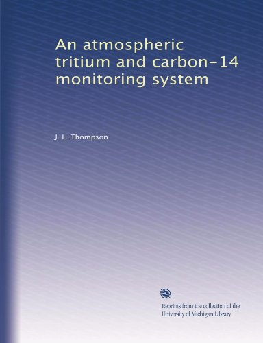 An Atmospheric Tritium And Carbon-14 Monitoring System front-1030937