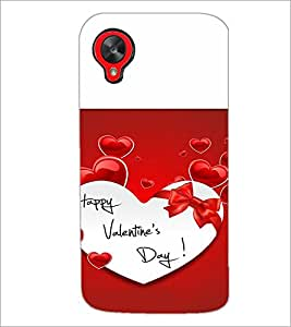 PrintDhaba Quote D-4724 Back Case Cover for LG GOOGLE NEXUS 5 (Multi-Coloured)