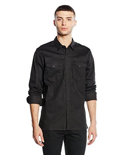 Levi's Camisa Hombre Negro