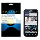 Motorola Photon 4G Screen Protector Premium Crystal Clear (2-Pack) by NU-CL ....