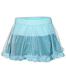 Tickles Girls Skirt(TIGSK000003A_4-5Y_MintGreen_4-5Y)