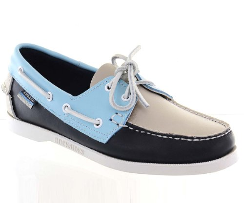 Sebago Women's Spinnaker Navy/Bone Boat Shoes 6.5M