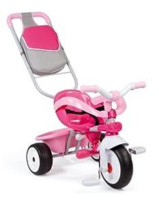smoby 434201 v lo et v hicule pour enfant tricycle baby driver fille jeux et. Black Bedroom Furniture Sets. Home Design Ideas