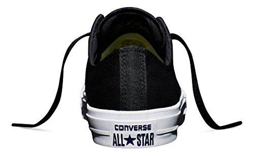 Converse Unisex Chuck Taylor II Ox Black/White/Navy Casual Shoe 7 Men US / 9 Women US