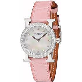 HERMES (エルメス) 腕時計 HEURE H RONDE H ウォッチ ロンド HR1.230.284/MRP レディース