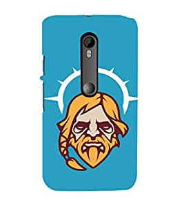 EPICCASE Jesus the saviour Mobile Back Case Cover For Moto G 3rd Gen (Designer Case)