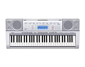 Casio CTK-4000 Personal Keyboard, 61-Key, with MP3 Connection, 10 Second Sampling, and Digital Effects