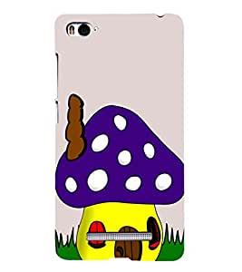 Colourful Mushroom 3D Hard Polycarbonate Designer Back Case Cover for Xiaomi Mi 4i :: Xiaomi Redmi Mi 4i