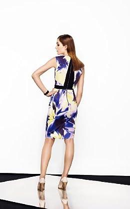 Dramatic Print Dress