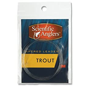Scientific Anglers 3-Pack Trout Leaders (9 Feet , 5X)