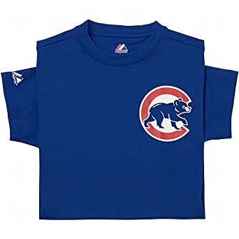Majestic Youth Mlb Replica Cool Base Jerseys Chicago Cubs by Majestic Athletic