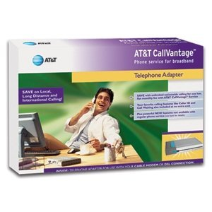 AT&T CallVantage Service VoIP Telephone Adapter