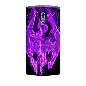 Qbic 3D High Quality Designer Mobile Back Case Cover For Lenovo A7010/K4 Note (Premium Matte Finishing Back Case)