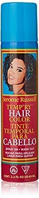 Jerome Russell Temp'ry Hair Color Spray