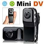 Goodaa MINI DV HIDDEN VIDEO CAMERA SPY CAM CAMCORDER + 8Gb Tf Card