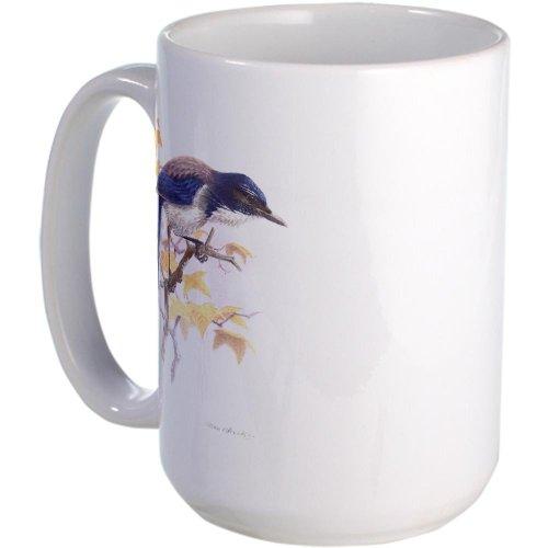Cafepress Western Scrub-Jay Large Mug Large Mug - Standard