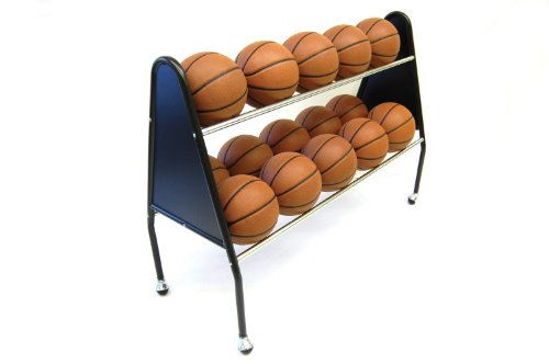 [해외]TRIGON 스포츠 Procage 2 계층 15 볼 카트/Trigon Sports Procage 2-Tier 15-Ball Cart