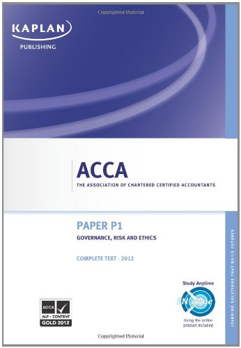 Acca paper p1 notes - Research paper Sample
