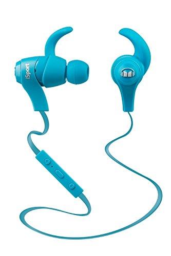 【国内正規品】Monster iSport wireless bluetooth対応 カナル型 ワイヤレスイヤホン 防滴/スポーツ向け ブルー MH ISRT WL IE BL BT