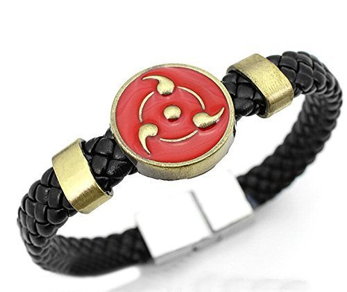 Vicwin-One Naruto Cosplay The Sharingan Bracelet Anime Cos - 1