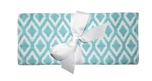 Caught Ya Lookin' Changing Pad, Blue and White