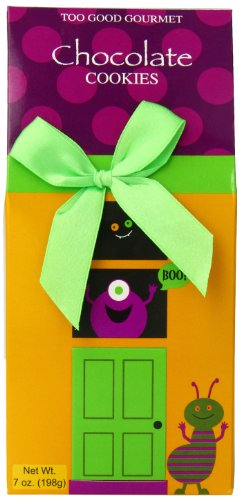 Too Good Gourmet Haunted House Cookie Box, Chocolate, 7 Ounce
