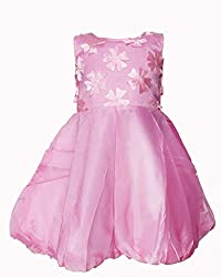 Softouch Girls' Frock (Pink_2-3 Years)