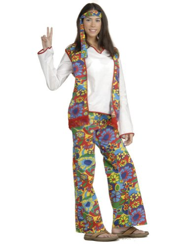 Hippie Dippie Woman Adult Womens Costume