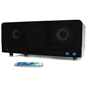 GOgroove BlueSYNC Wireless Bookshelf Speaker and Bluetooth Home Entertainment System with 2.1 Channel Stereo & Enhanced Bass - Works for Apple , Samsung , Sony , HTC , Toshiba and more Smartphones , Tablets , MP3 Players , TV's , Computers!