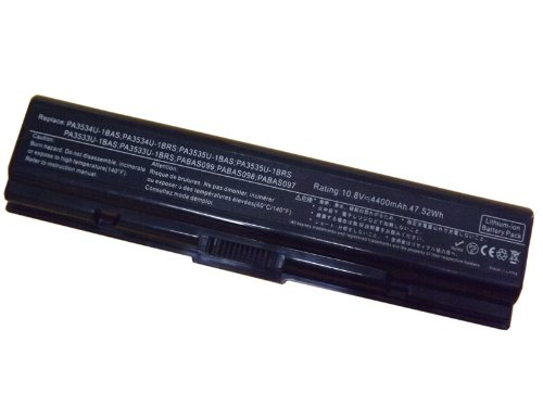 Ersatz Ersatz-Akku für TOSHIBA Satellite M200 M202 M203 M205 M206 M207 M208 M209 M211 M212 M215 M216 PRO A200 Pro A210 Pro A300 PRO L300 Pro L300D PRO L450 Pro L450 Pro L500 Pro L550 (11.1v/4400 mAh)